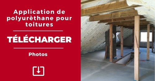 Photos application polyurethane pour toitures