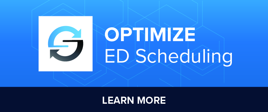 optimize ED scheduling