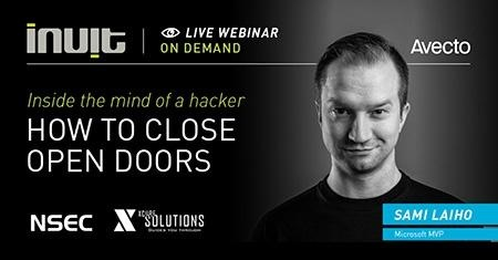 Inside the mind of hacker:  how to close open doors