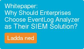 Whitepaper: Why Should Enterprises  Choose EventLog Analyzer as Their SIEM Solution?