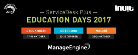 ServiceDesk Plus Education Days 2017