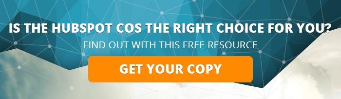 Is the HubSpot COS Right For You?