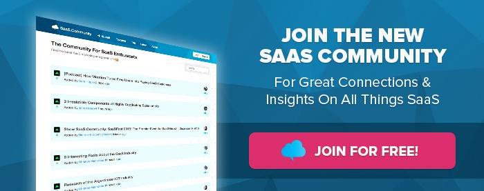 Join The SaaS Community