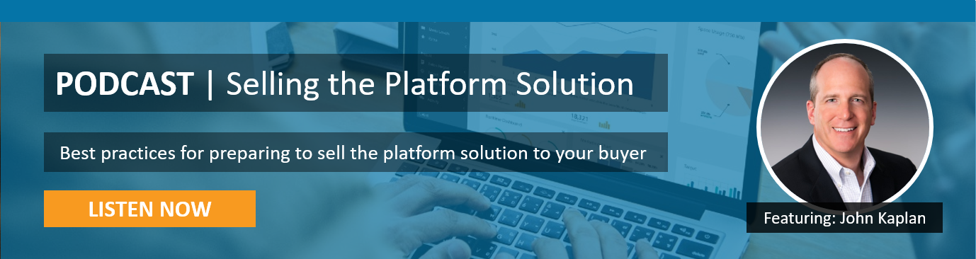 Podcast - Selling the Platform Solution