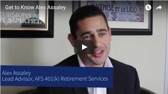 alex assaley interview napa top advisor