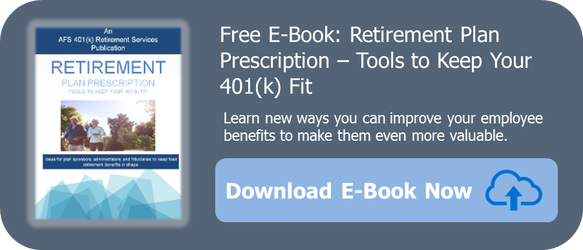 AFS 401k retirement plan ebook