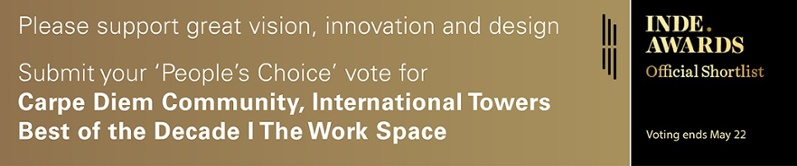 Submit your People's Choice vote for Carpe Diem Community, International Towers Best of the Decade - The Work Space