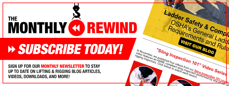 Subscribe to The Monthly Rewind Newsletter