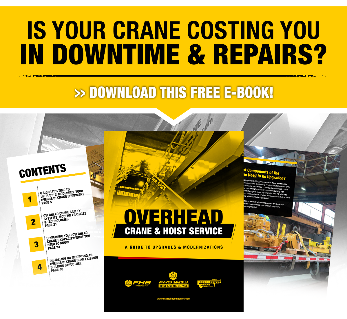 overhead crane upgrades and modernization e-book