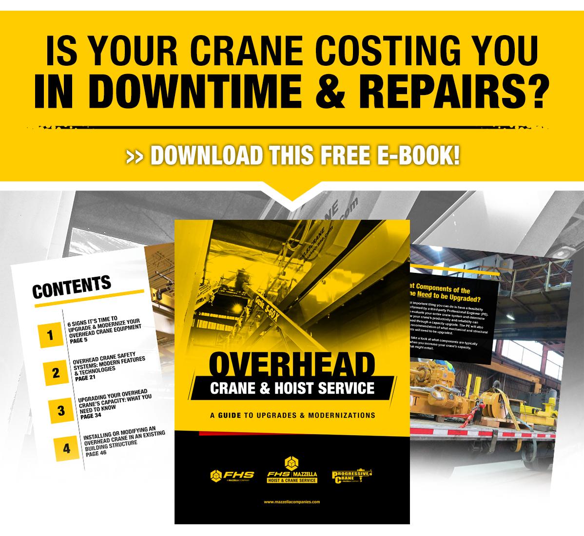overhead crane upgrades and modernization e-book