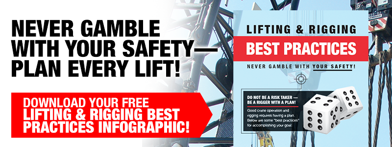 lifting and rigging best practices infographic