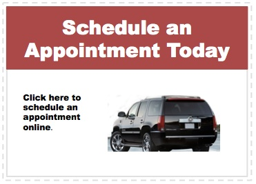 Make an appointment to service your Cadillac