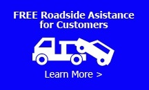 FREE Roadside Assistance for Customers