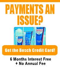 Get a Bosch Credit Card