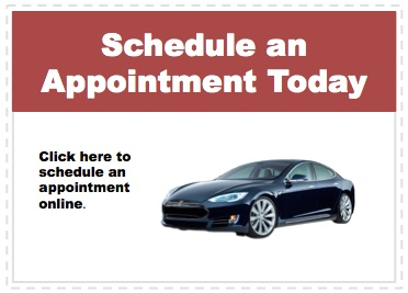 Make an appointment to service your Tesla