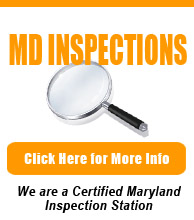 Certified Maryland State Inspection Station