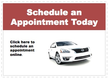Make an appointment to service your Nissan