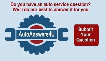 Submit your auto service question.