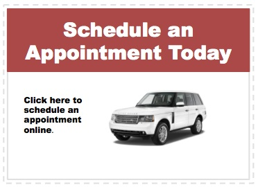Make an appointment to service your Land Rover