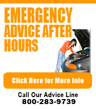 Emergency Advice After Hours - Call 800 283 9739