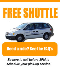 Free Courtesy Shuttle - Get the Info