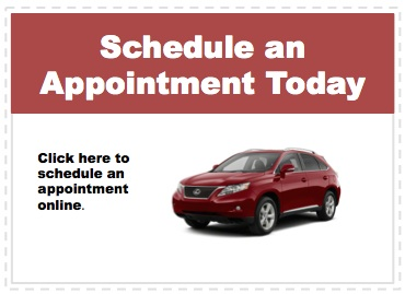 Make an appointment to service your Lexus