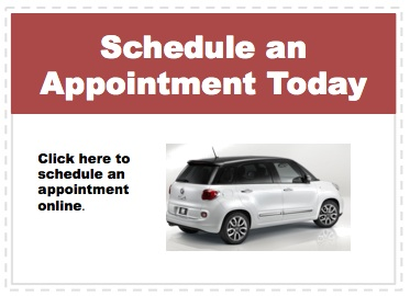 Make an appointment to service your Fiat