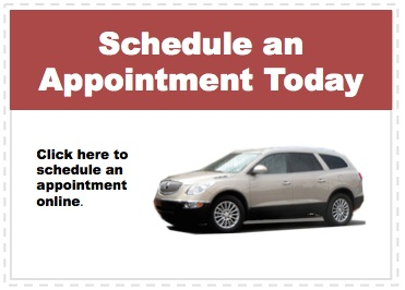 Make an appointment to service your Buick