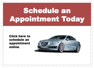 Make an appointment to service your Jaguar