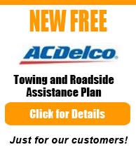 Free Towing and Roadside Assistance Plan from AC Delco
