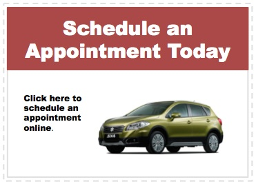 Make an appointment to service your Suzuki