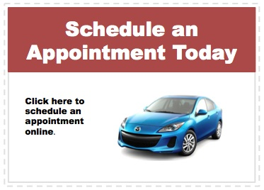Make an appointment to service your Mazda