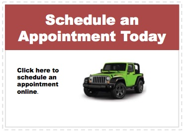 Make an appointment to service your Jeep