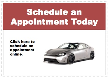 Make an appointment to service your Scion