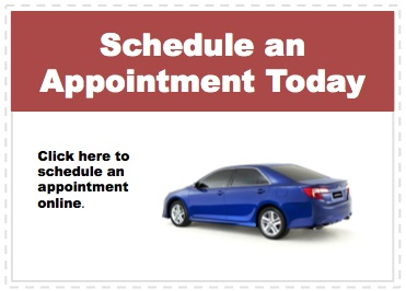 Make an appointment to service your Toyota