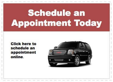 Make an appointment to service your GMC