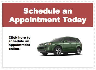 Make an appointment to service your Saturn