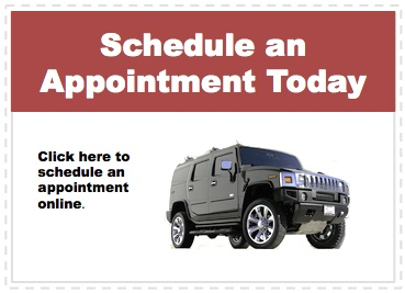 Make an appointment to service your Hummer