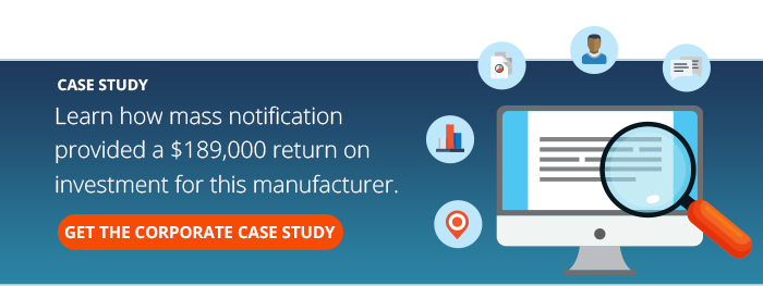 Manufacturer Mass Notification
