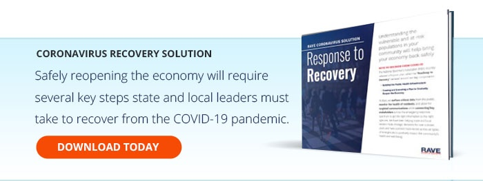Universal - State and Local Coronavirus Recovery Solution