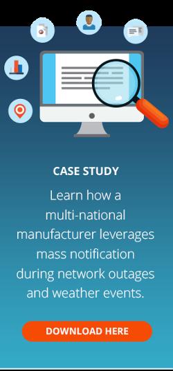Manufacturer Mass Notification