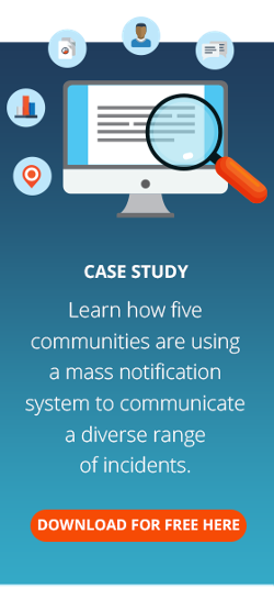 communities using mass notification