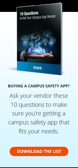 Campus Safety App Vendor Questions