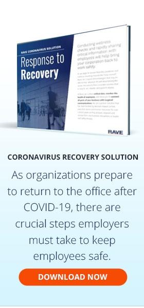 Universal - Corporate Coronavirus Recovery Sidebar CTA