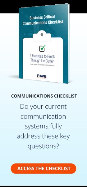 Business Critical Communications Checklist