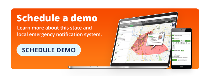 State and Local Emergency Notification System Demo