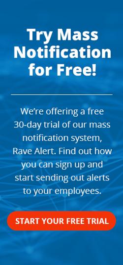 Rave Alert Free Trial