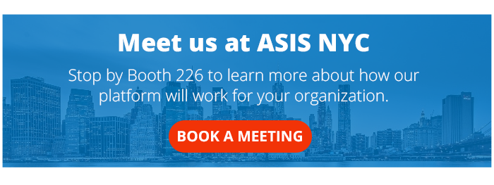 ASIS NYC 2018 Meet Us