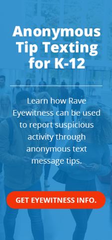 Anonymous Tip Texting k-12
