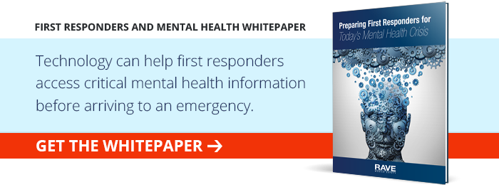 First Responders and Mental Health
